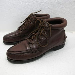 Timberland Brown Oil Tanned Leather Boots 9 M